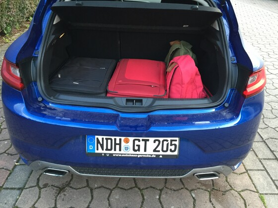 M4 GT Kofferraum