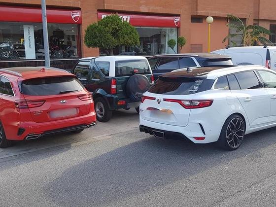 GT mit RS Heck aus Spanien