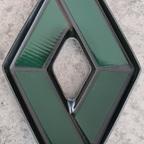 Rhombe schwarz Rückseite